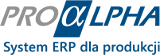 Logo systemu: proALPHA